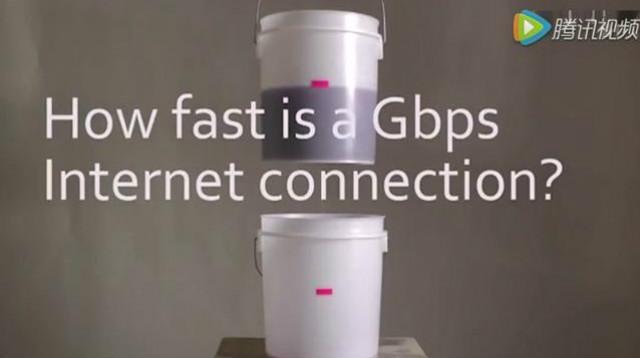 1G每秒的网速是个什么概念?对比演示