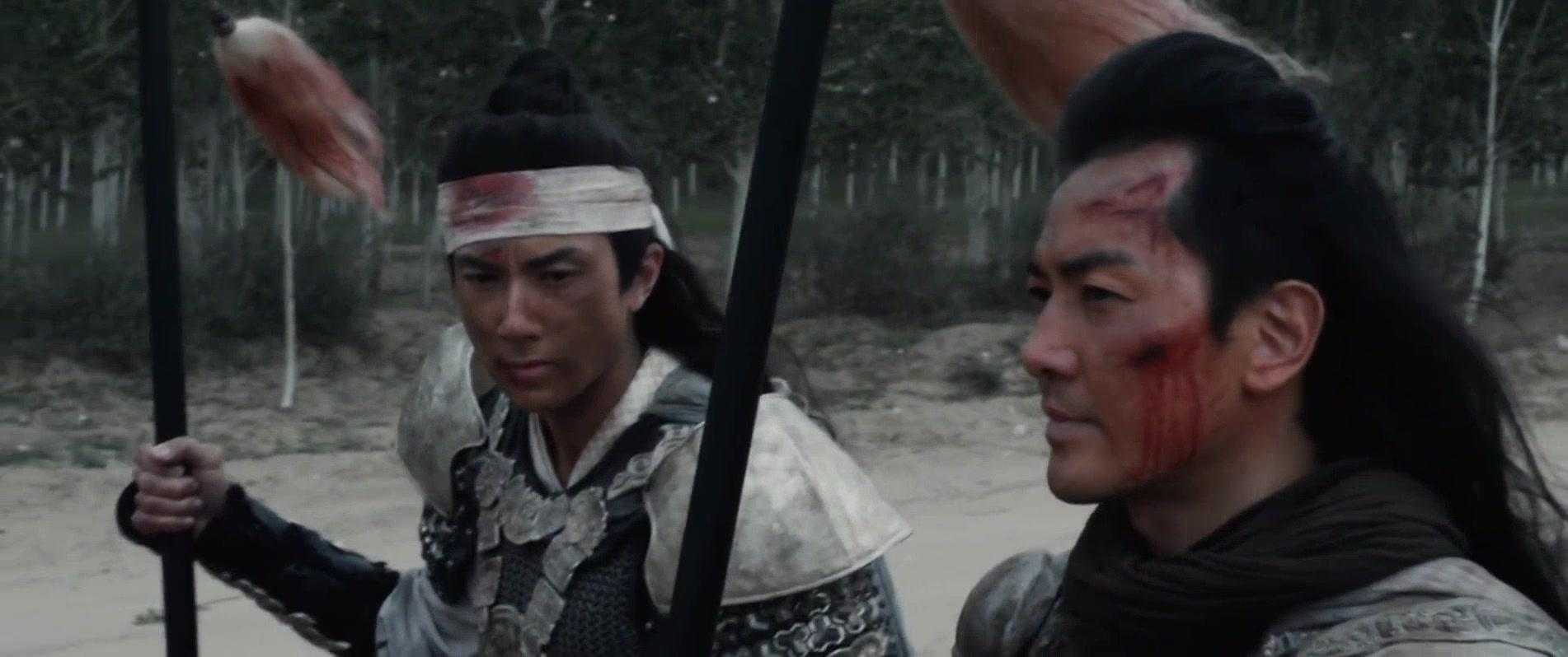 忠烈杨家将:男子受伤病重,无奈之下躲进庙里疗养休息
