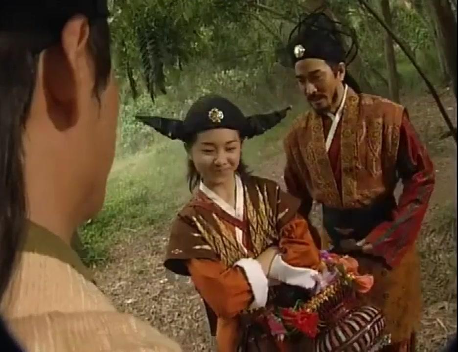 东游记:为报一脚之恩,孙悟空送500年功力助蓝采和成仙大战青牛