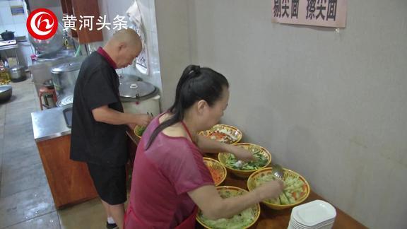 太原:小面馆大能量 坚持为环卫工人提供免费午餐