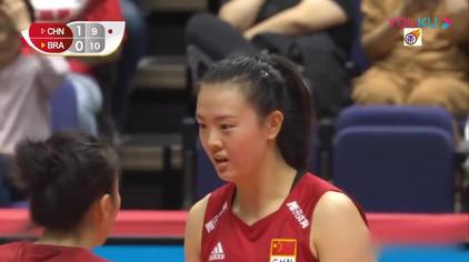 2019女排世界杯_中国vs巴西(全场中文)