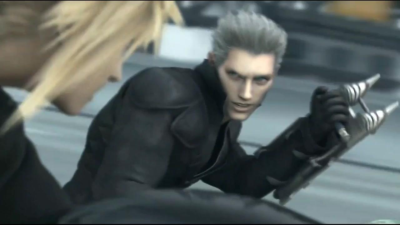最终幻想7:三大型男的追逐之战,动作设计超炫