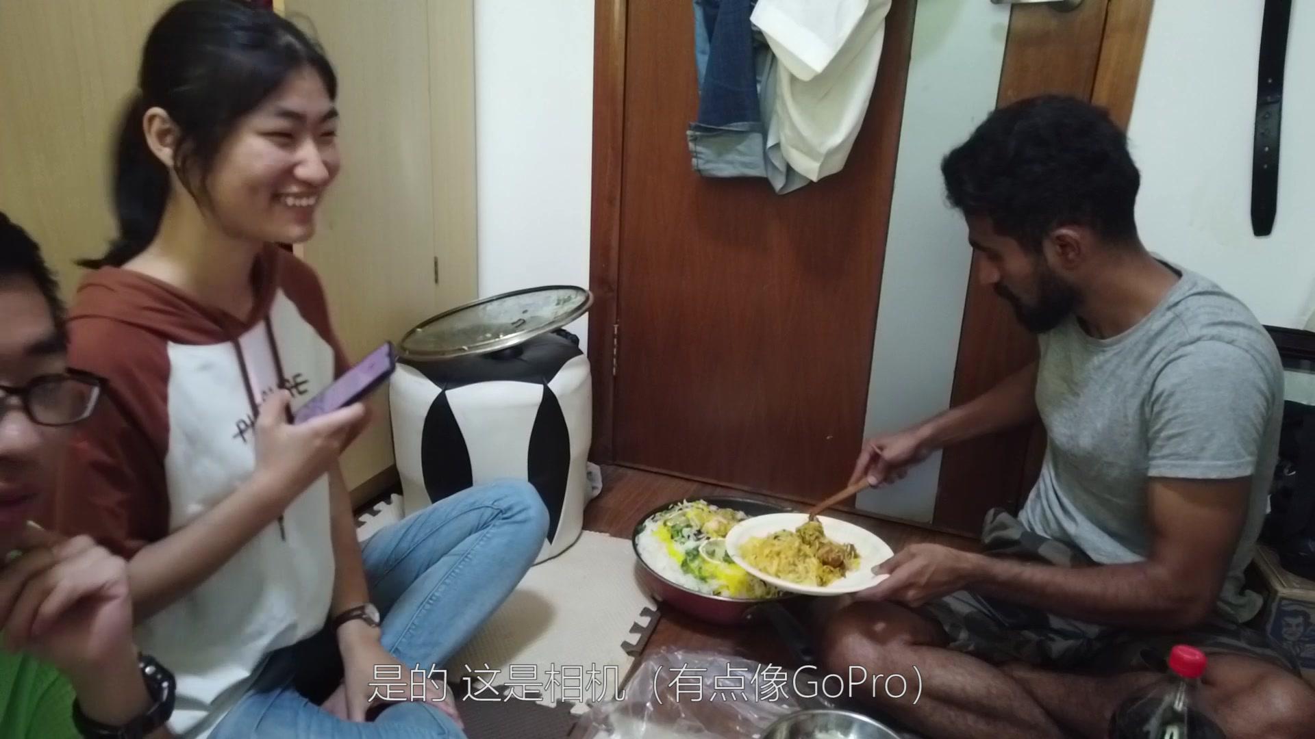 秘鲁妹子的一天:在浙大第一次吃老外做的当地美食,现场很开心