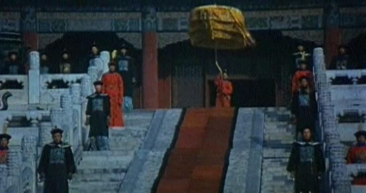 火烧圆明园:咸丰皇帝的登基大典,数千人在广场只为皇帝一人服务