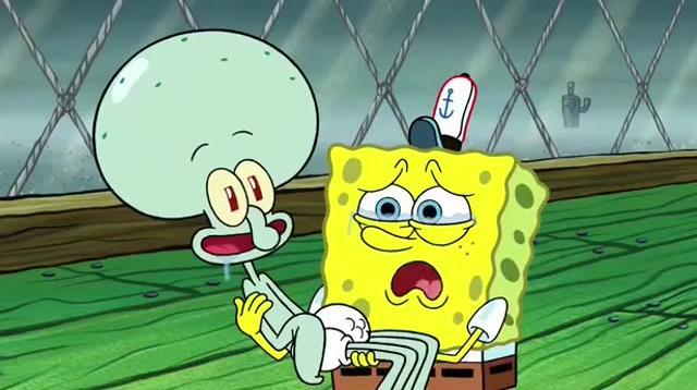 章鱼变成了小婴儿,什么都想吃,也不管干净不干净了
