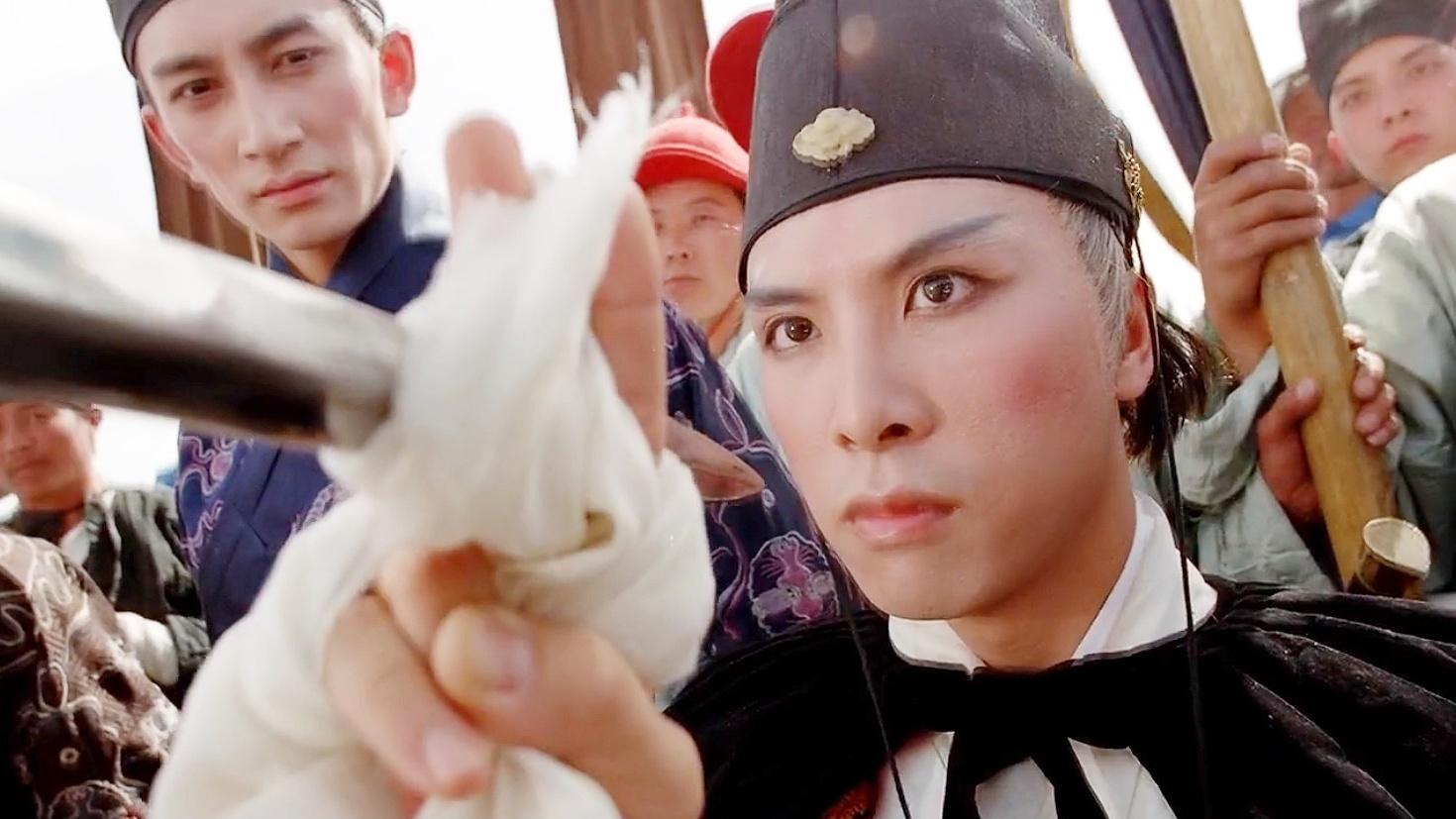 甄子丹唯一一次演太监,东厂第一高手霸气十足,却败给一个厨子!
