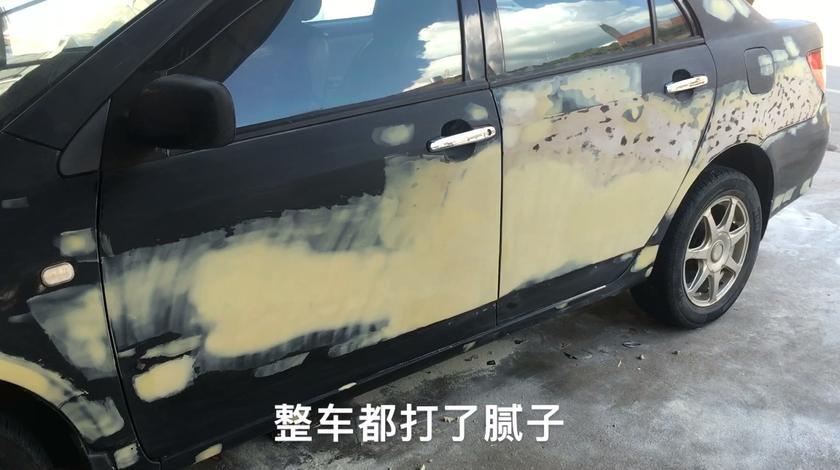 国产神车全车翻新喷漆,全车刮满腻子,车主说要保三年,能保吗