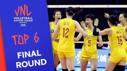 世界女排联赛总决赛,六强球队介绍,7月3日我们南京见