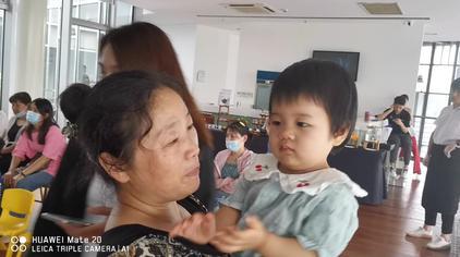 张亦倾(2020.7.30)和姨奶奶在奔驰利之星4S店…🤓