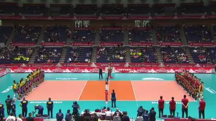 2019女排世界杯中国女排VS巴西女排全场!