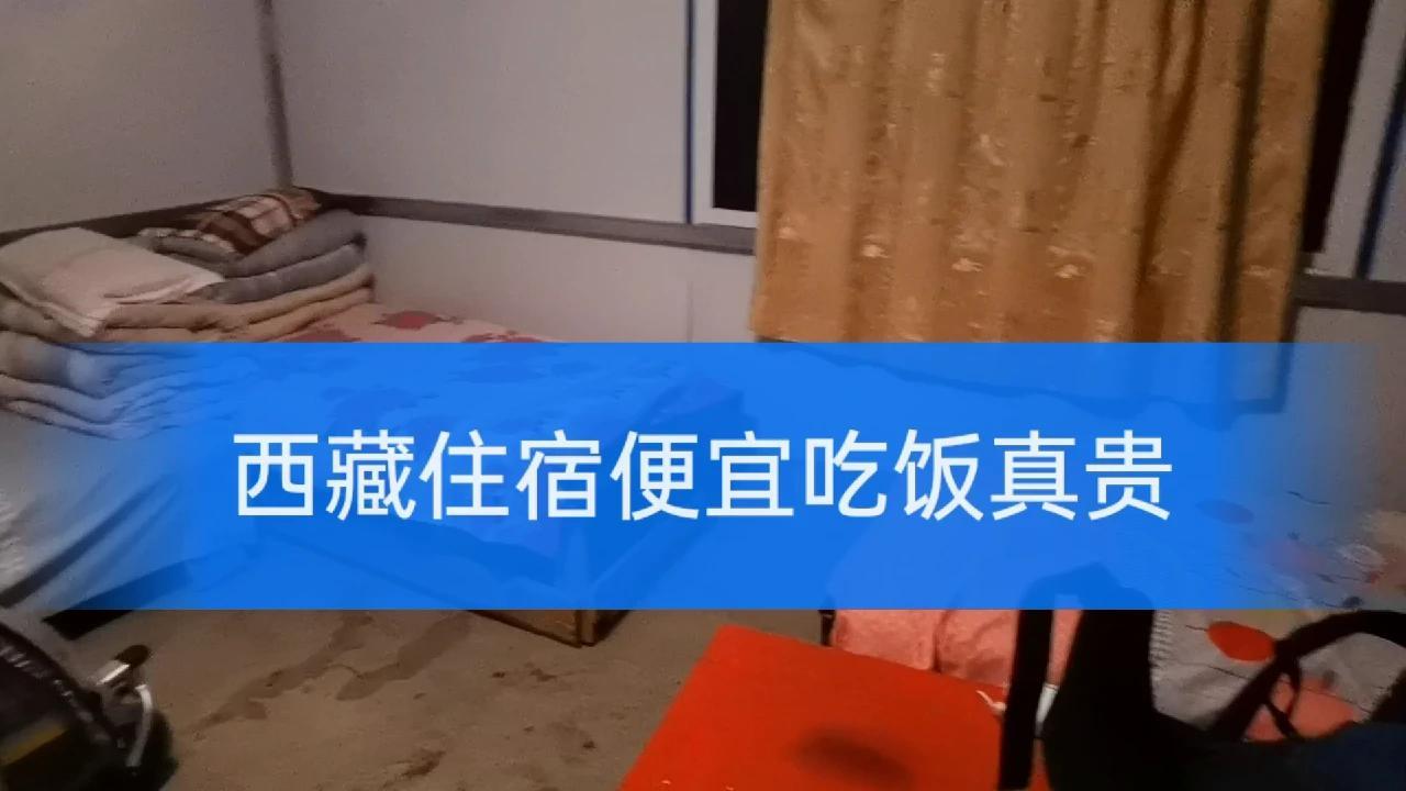 西藏住宿便宜吃饭太贵,在72拐点了一份炒牛肉68元给狗狗二郎吃。