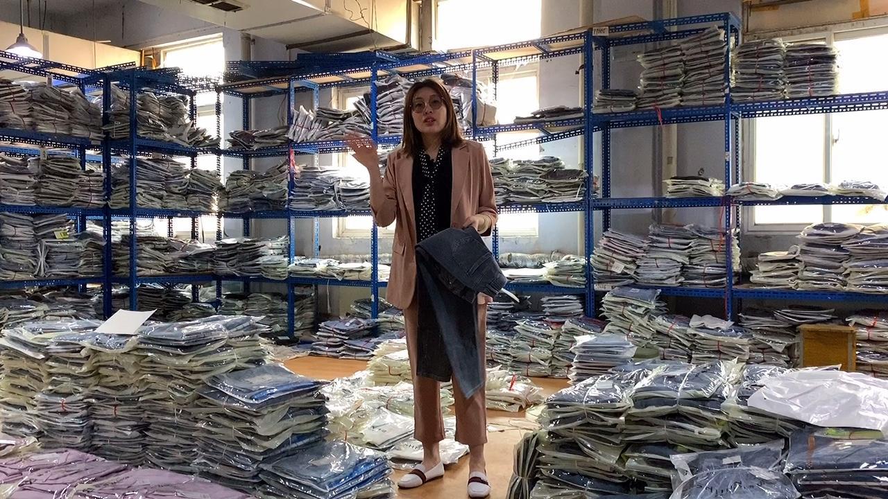 实体专柜300多的牛仔裤,因疫情耽误卖货时间,今晚低至1⃣️折