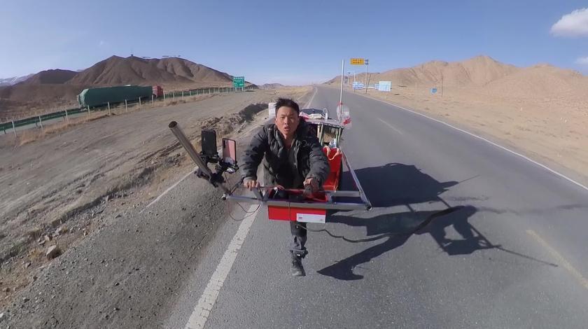 徒步西藏,高原海拔3700米跑得好爽,跑累了晚上做了一个火锅吃!