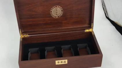 #木盒加工定制 #密度板 #熊胆粉 熊胆粉木盒 通用滋补品礼盒