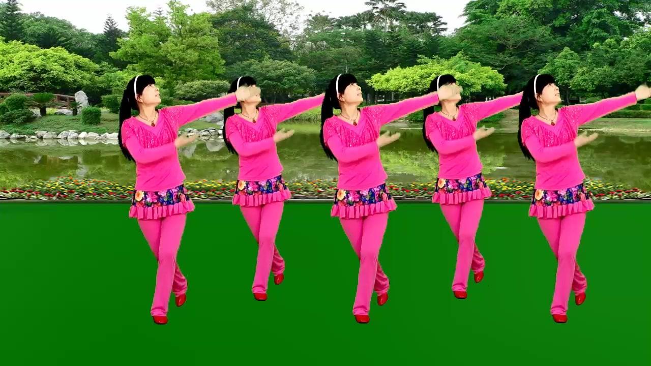 黄梅戏老歌新跳广场舞《天仙配》欢快喜庆秧歌舞步,简单好看好学