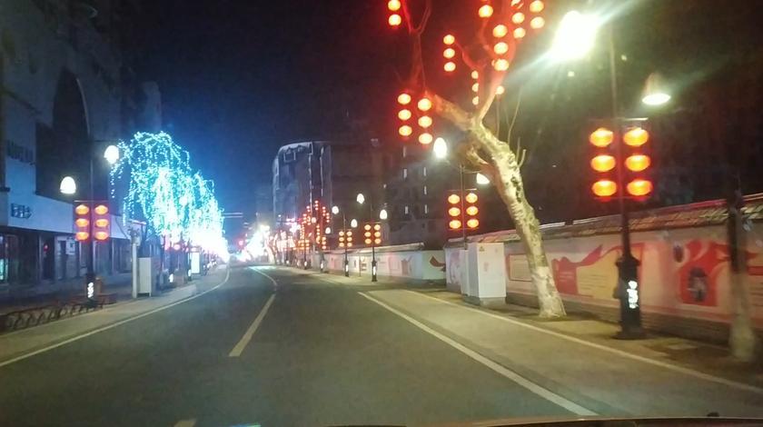 年过了今天晚上第一次出门,浙江丽水中山街夜景太美了……